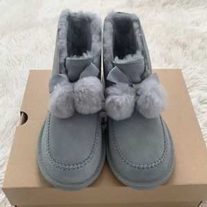 UGG Kallen genuine shearling line bootie slipper